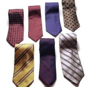 J○S.A.BANK 7 Tie Bundle
